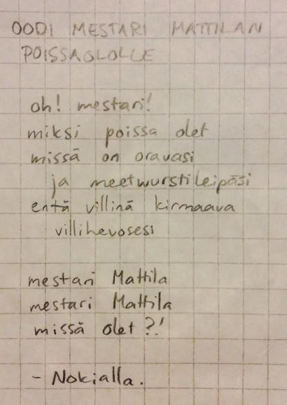 Mestari Mattila