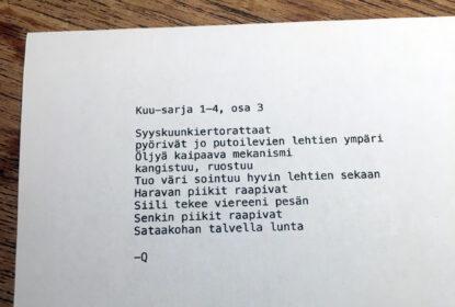 Kuu-sarja 1–4, osa 3